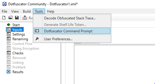 Command Line Interface — Dotfuscator Community User Guide 5 42